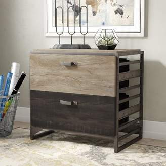 Williston Forge Riverside 2 Drawer Lateral Filing Cabinet