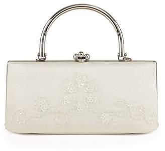 Farfalla Womens 90373 Clutch Ivory
