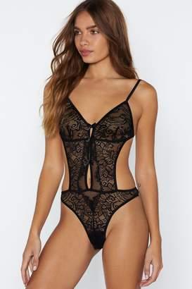 Nasty Gal Burning Desire Lace Bodysuit