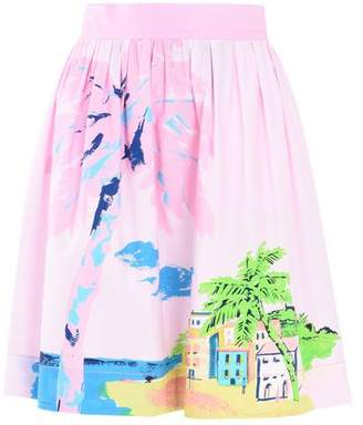 Moschino OFFICIAL STORE Knee length skirt