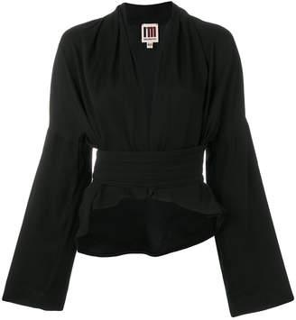 I'M Isola Marras crop kimono blazer