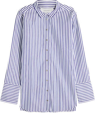Marques Almeida Marques' Almeida Striped Cotton Shirt