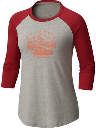 Columbia PNW Mount Tabor Baseball T-Shirt - Women's