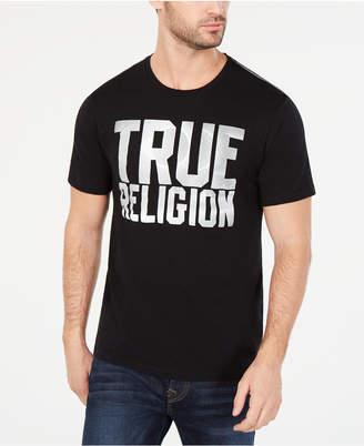 True Religion Men's Eclipse Logo Graphic T-Shirt
