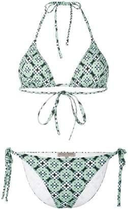 Bottega Veneta dotted print bikini