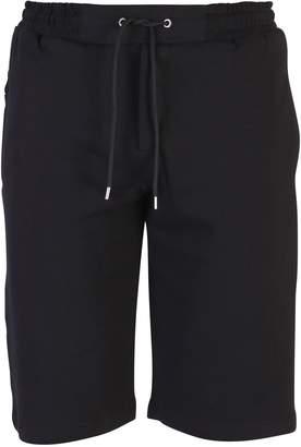 McQ Black Branded Shorts
