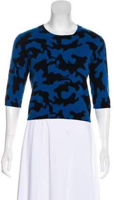 Zoë Jordan Printed Wool Sweater