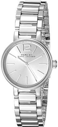 Marc by Marc Jacobs Women's MBM3404 Analog Display Analog Quartz -Tone Watch