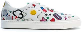 Anya Hindmarch multi print sneakers