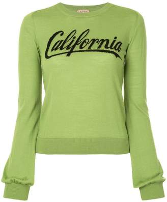 No.21 California knitted sweater