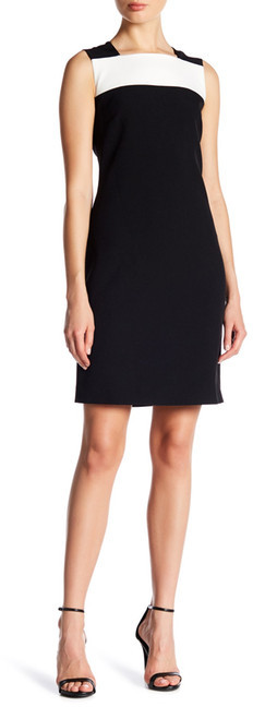 Anne Klein Anne Klein Sleeveless Colorblock Dress