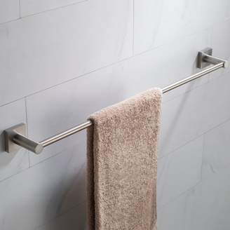 Kraus KRAUS Ventus 24-inch Bathroom Towel Bar, Brushed Nickel Finish