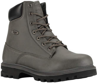 Lugz Empire Hi Wr Mens Lace Up Water Resistant Slip Resistant Work Boots