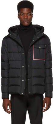 Moncler Black Down Prevot Jacket