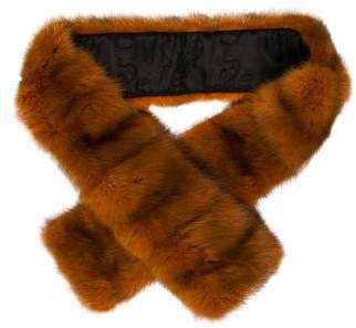 Dyed Sable Stole