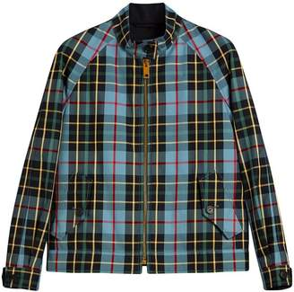 Burberry Tartan Cotton Gabardine Jacket