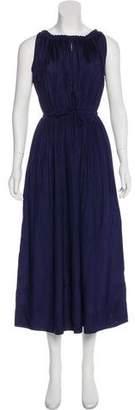Rachel Comey Pleated Silk Dres