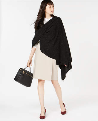 Charter Club Pure Cashmere Donegal Oversized Scarf, Created for Macy's