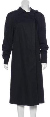 Armani Collezioni Long Double-Breasted Coat