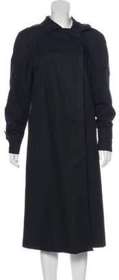 Armani Collezioni Long Double-Breasted Coat
