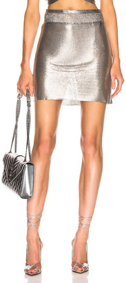 Fannie Schiavoni Malin Skirt in Silver | FWRD