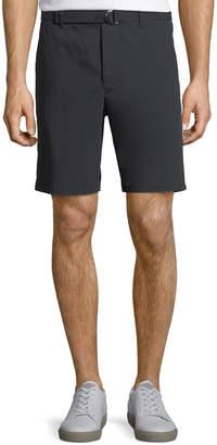 Prada Men's Belt-Waist Cotton-Blend Shorts