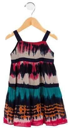Milly Minis Girls' Sleeveless Tie-Dye Dress