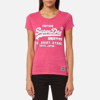 Superdry Women's Shirt Shop Overdyed Entry T-Shirt