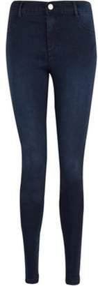 Dorothy Perkins Womens Blue Black 'Frankie' Super Skinny Jeans
