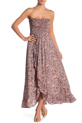 Tiare Hawaii Conrad Strapless Maxi Dress