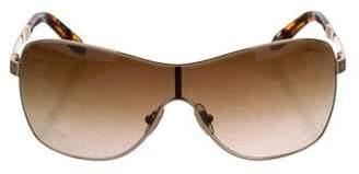 Tiffany & Co. Oversize Tinted Sunglasses