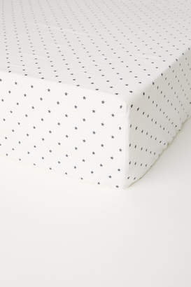 H&M Fitted Sheet - White