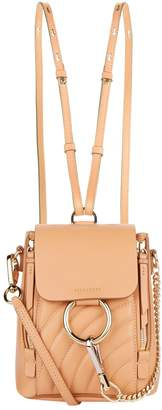 Chloé Mini Quilted Faye Backpack