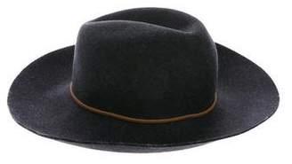 Rag & Bone Felt Wide Brim Hat