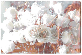 Willa Arlo Interiors 'Rose Gold Feast' Graphic Art on Wrapped Canvas