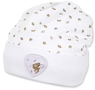 Sterntaler Baby Girls' Slouch-Beanie Waldis Rosie Hat