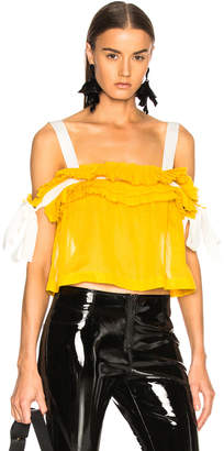 Philosophy di Lorenzo Serafini Attached Tie Sleeve Blouse