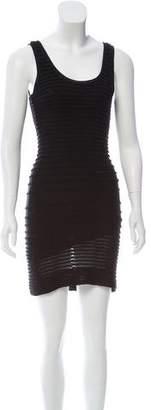 Yigal Azrouel Sleeveless Fringe Dress