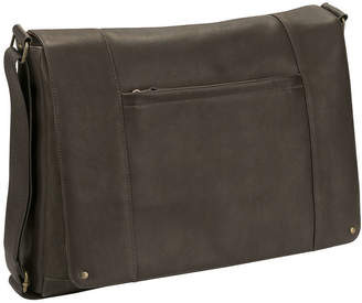 JCPenney Solo SOLO Leather Messenger Bag