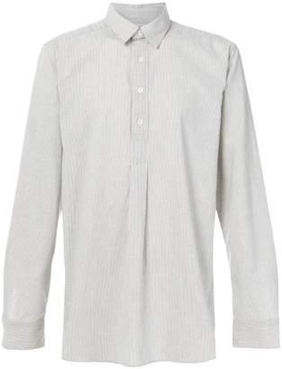 Kent & Curwen striped henley shirt