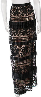 Alice by Temperley River Lace Skirt w/ Tags $445 thestylecure.com