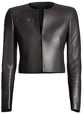Akris Women's Hasso Leather Jacket