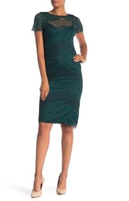 5fc6a1d3152d Donna Ricco Floral Lace Bodycon Dress