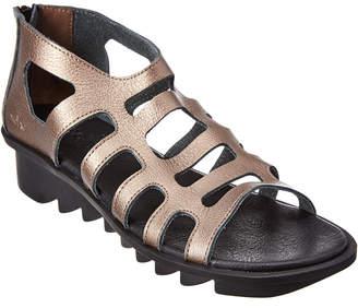Arche Ikyade Leather Wedge Sandal