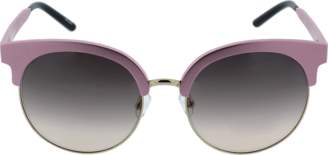 Matthew Williamson Gold Trim Round Sunglasses