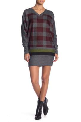 Couture Go Colorblock Sweater Dress