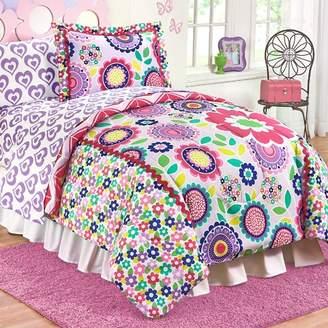 Disney Just For Kids Floral Dream Reversible Comforter