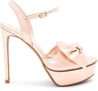 Lola Cruz Bow Platform Heel