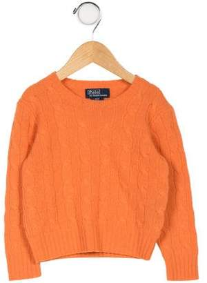 Ralph Lauren Kids' Cashmere Knit Sweater