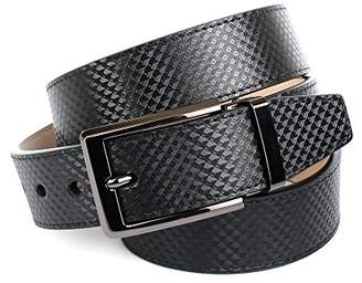 Anthoni Crown Men's 3QB10 Belt, (Schwarz 010)